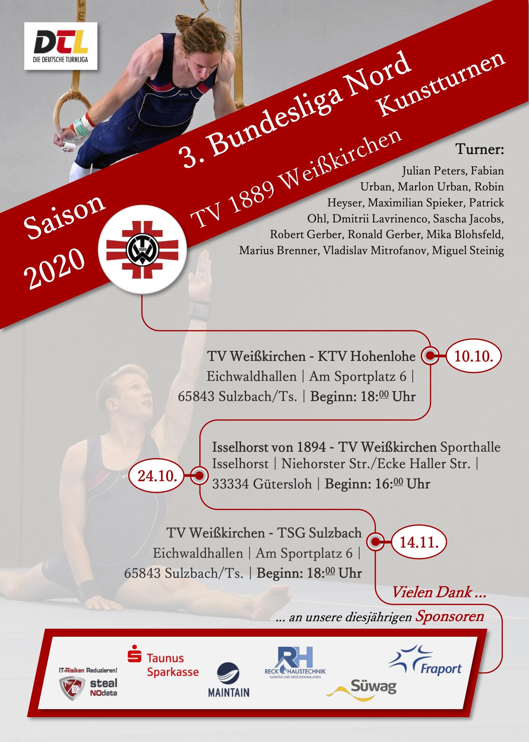 Bundesligaturnen live erleben